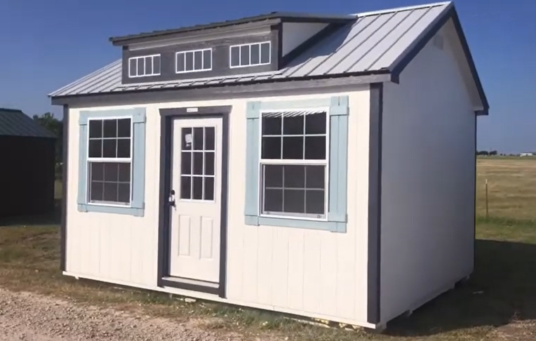 """PROJECT: """"Attractive 12′ x 16′ Dormer Shed/Studio"""""""
